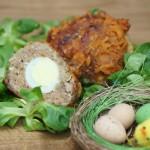 Kukułcze gniazdka z jajkami przepiórczymi