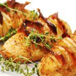 Ziemniaki z grilla z sosem śmietanowym